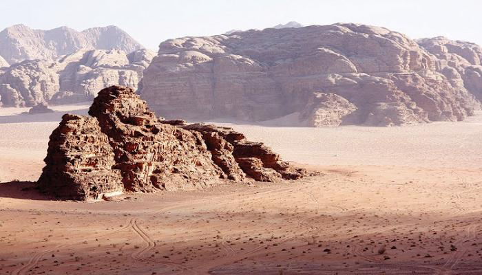 Wadi Rum, Jordan, 2010. Source: Anouk Pappers.