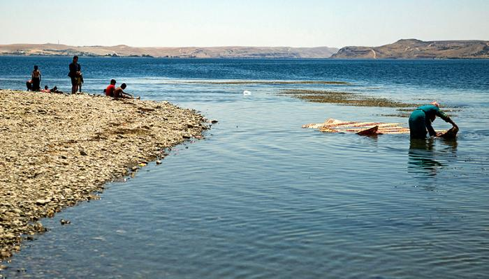 Shoyoukh Tahtani, Lake Tishreen, Syria, 2009. Source: Adel Samara.