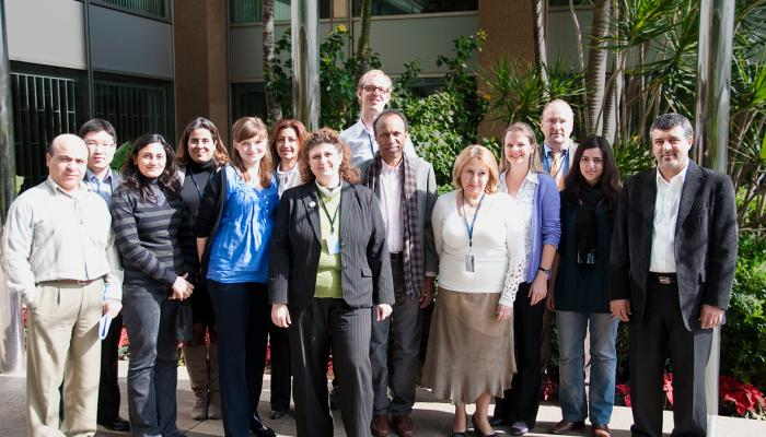 Team of the Inventory of Shared Water Resources in Western Asia