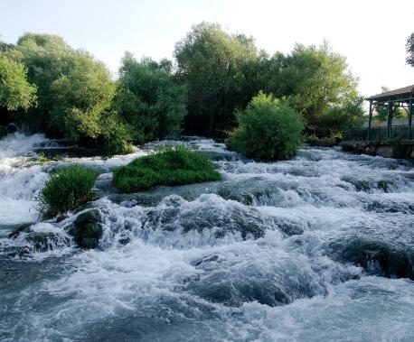 The Dardara Falls on the Orontes River, Lebanon, 2009. Source: Andreas Renck.