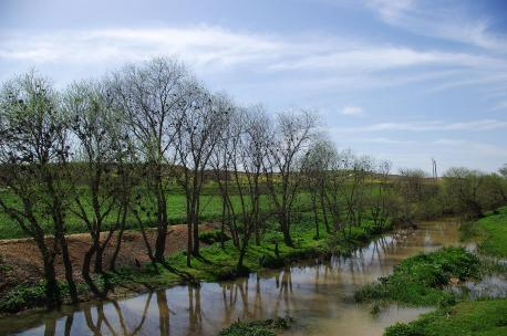 The Sajur River in Syria, 2009. Source: Andreas Renck.
