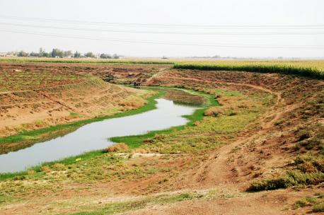 The Khabour near Tell Halaf, Ras al Ain, Syria, 2009. Source: Bertramz.