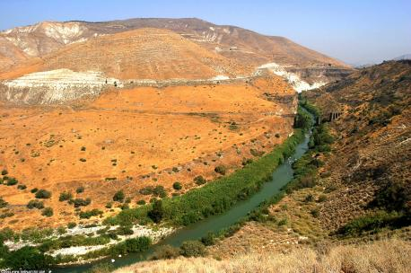 Yarmouk River, Jordan, 2004. Source: Benjamin.