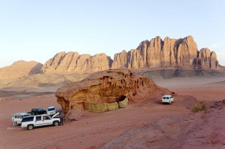 Wadi Rum, Jordan, 2010. Source: Andreas Renck.