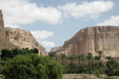 Wadi Doan, Yemen, 2000. Source: Kebnekaise.