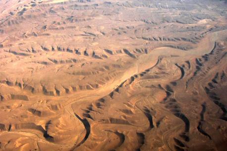 An Nafud Desert, Saudi Arabia, 2004. Source: Banco de Imagenes Geologicas.