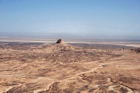 Area north and north-west of Al-Jafr, Jordan, 2008. Source: Robert Bewley, Aerial Photographic Archive for Archaeology in the Middle East.