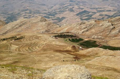 The Anti-Lebanon Mountain range near Bloudan, Syria, 2009. Source: Cristen Rene.