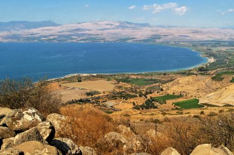 Lake Tiberias, Israel, 2010. Source: Adam Groffman.