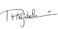Signature of Roula Majdalani