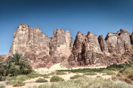 The region of Al Ula, Saudi Arabia, 2012. Source: Amru Essam.