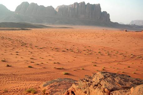 Wadi Rum, Jordan, 2008. Source: Eileen Maternowski.